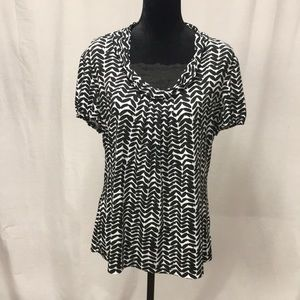 East 5th printed top